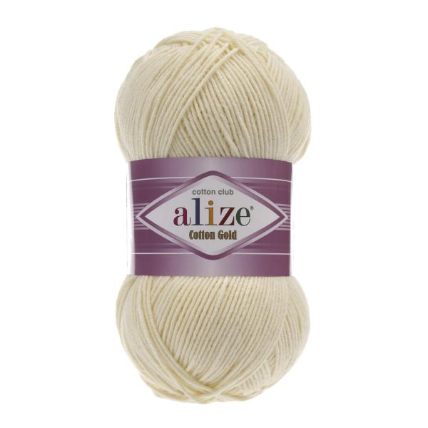 Alize Cotton Gold 01 creme