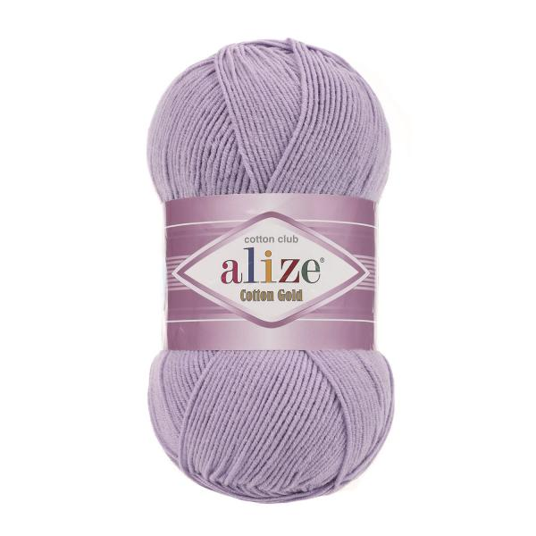 Alize Cotton Gold 166 lila hell