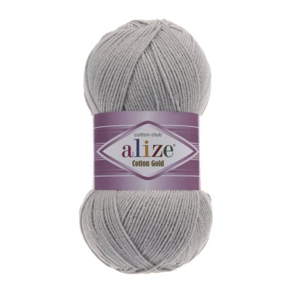 Alize Cotton Gold 21 grau