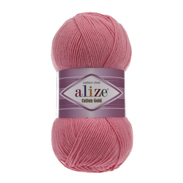 Alize Cotton Gold 33 bonbon rosa