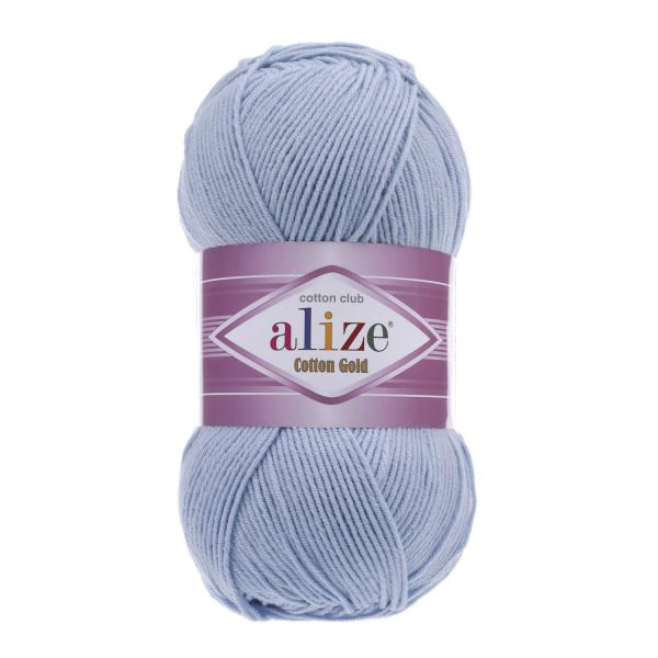 Alize Cotton Gold 40 hellblau