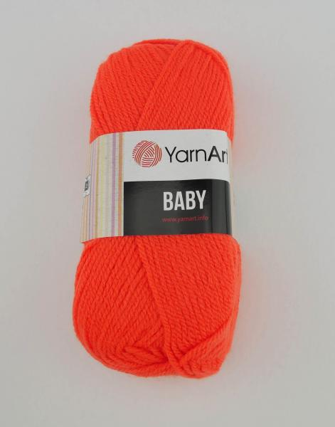 YarnArt Baby orange 8279